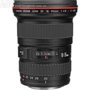 Lens CANON WIDE ZOOM EF 16-35mm f/2.8L II (UY) (chính hãng Canon  VN - LBM)