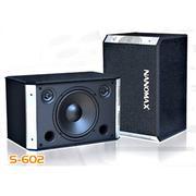 Loa Nanomax S-602, loa nanomax, loa chuyên dùng cho nghe nhạc, karaoke, loa hội trường sân khấu