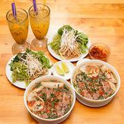 Combo 02 Tô Bún Bò Bắp Chả + 02 Ly Soda Chanh/ Chanh Dây - Bún Bò Sài Gòn