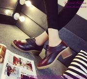 Giày oxford da thu đông phong cách năng động GUBB146