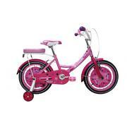 Xe đạp trẻ em Stitch Family JK906 12 inch ( Hồng)