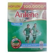 Sữa bột Anlene gold vanilla Bonemax 1000g  (hộp)