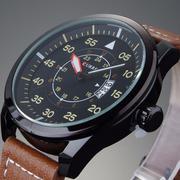 Bộ 1 đồng hồ nam dây vải + 1 đồng hồ nam dây da Curren + Tặng kèm pin dự phòng CE912