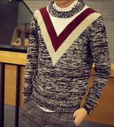 áo len nam phối màu cá tính