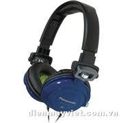 Tai nghe Panasonic RP-DJS-400 DJ Street Style Headphones (Blue)