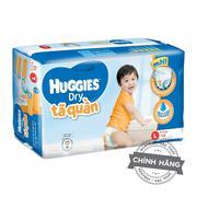 Tã-bỉm quần Huggies Dry L68