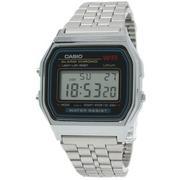 Đồng hồ unisex dây kim loại Casio A159WA-N1DF (Bạc)