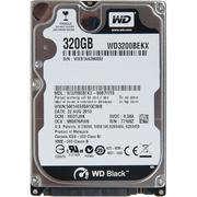 NB HDD WD 320GB WD3200BEKX Black (2.5in)