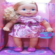 Búp bê Little Mommy tóc dài trắng (36cm)