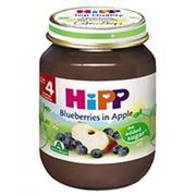 Dinh dưỡng đóng lọ dâu tím táo tây Hipp 4+