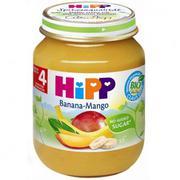 Dinh dưỡng đóng lọ HiPP vi chuối xoài (125g)