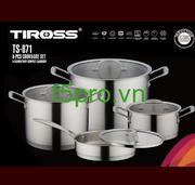 Bộ nồi nấu Tiross TS 871