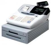 Máy tính tiền CASIO TE-100 (Kèm két đựng tiền)
