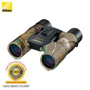 Ống nhòm Nikon 10x25 Aculon A30 Binocular (Real Tree Camo)