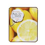 Mặt nạ hương chanh - Missha M2819 Pure Source Sheet Mask (Lemon)
