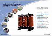 máy biến áp khô 22/0.4KV 3P 1250 KVA