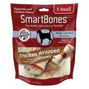 Bánh gặm SmartBones cuộn thịt gà loại nhỏ 5 cái - SCBW- 002172