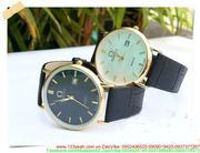 Đồng hồ dây da nam Ome thời trang lịch lãm DHNN109