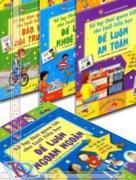Sổ tay thói quen tốt cho tuổi tiểu học - Bộ 4 cuốn