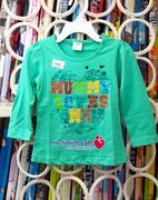 Áo dài tay bé gái H&M made in Vietnam xuất khẩu