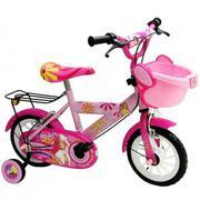 Xe đạp trẻ em 2 bánh, họa tiết bé gái M703, cho trẻ từ 4~6 tuổi