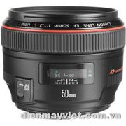 Canon Normal EF 50mm f/1.2L USM Autofocus Lens USA     Mfr# 1257B002