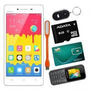 Bộ 1 Vivo Y51 16GB (Trắng) + 1 Masstel A10 + 1 Sim Viettel + 1 Thẻ Nhớ 8GB + 1 Móc Khóa Thông Minh +...