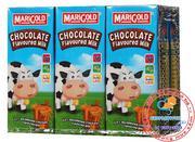 Sữa tươi MariGold của Sing hương chocolate 250ml - lốc 6 hộp