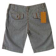 Quần Short jean sọc