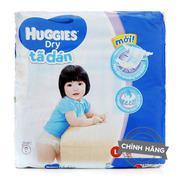 Tã-bỉm dán Huggies Dry L68