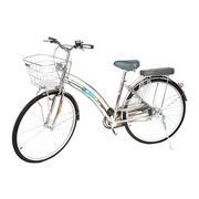 Xe đạp BMX @ Trơn 27 Inch căm 36 TTCO - 51_trắng inox