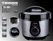 Nồi cơm điện đa năng Tiross TS-991 0.5L (Đen)