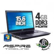 Acer Aspire Timeline AS5810TZ-4784 LX.PDM02.002 Notebook PC - Intel Pentium Dual-Core ULV SU4100 1.3...