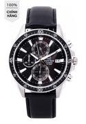 Đồng hồ nam dây da Casio EFR-546L-1AVUDF (Đen)