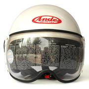 Mũ bảo hiểm trùm đầu ANDES 103D (Trắng)