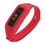 Vòng đeo LED thể thao dây nhựa 002 (Đỏ)