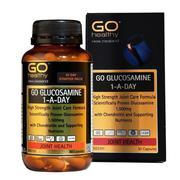 Viên uống giảm đau nhức, bồi bổ xương khớp - Go Glucosamine 1 A Day 1500mg- Go Healthy New Zealand