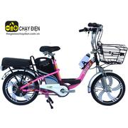 Xe đạp điện Bmx khung sơn vành 18 (Hồng)