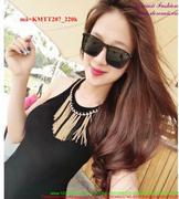 Kính mát thời trang Hotgirl gọng vuông sành điệu KMTT207