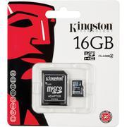 Thẻ nhớ Kingston 16GB microSDHC Memory Card Class 4