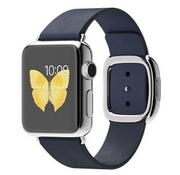 Apple Watch 38mm Stainless Steel Case with Blue Modern Buckle - Hàng FPT