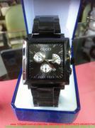 Đồng hồ nam inox guci mặt vuông độc đáo sang trọng DHDI61