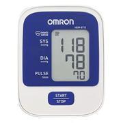 Máy đo huyết áp bắp tay Omron HEM - 8712 ( Trắng phối xanh)