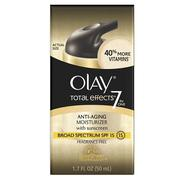OLAY TOTAL EFFECT ANTI-AGING MOISTURIZER SPF15 FRAGRANCE FREE (50ML)