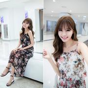 Đầm Maxi Hoa Hồng