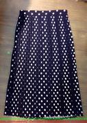 Chân váy dài họa tiết chấm bí nhỏ xếp ly đáng yêu CVX17