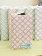 Ốp lưng điện thoại Hàn Quốc: Ecoskin (Flip2 Pastel check diary case)