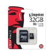 Thẻ nhớ Kingston Micro SDHC 32GB class 10, UHS-I, 45MB/s
