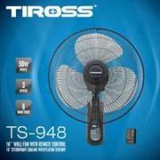 Quạt treo tường điều khiển từ xa Tiross TS-948