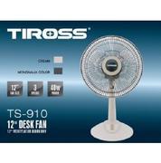 Quạt bàn TIROSS, 40W, màu ghi đậm và sữa trắng TS910